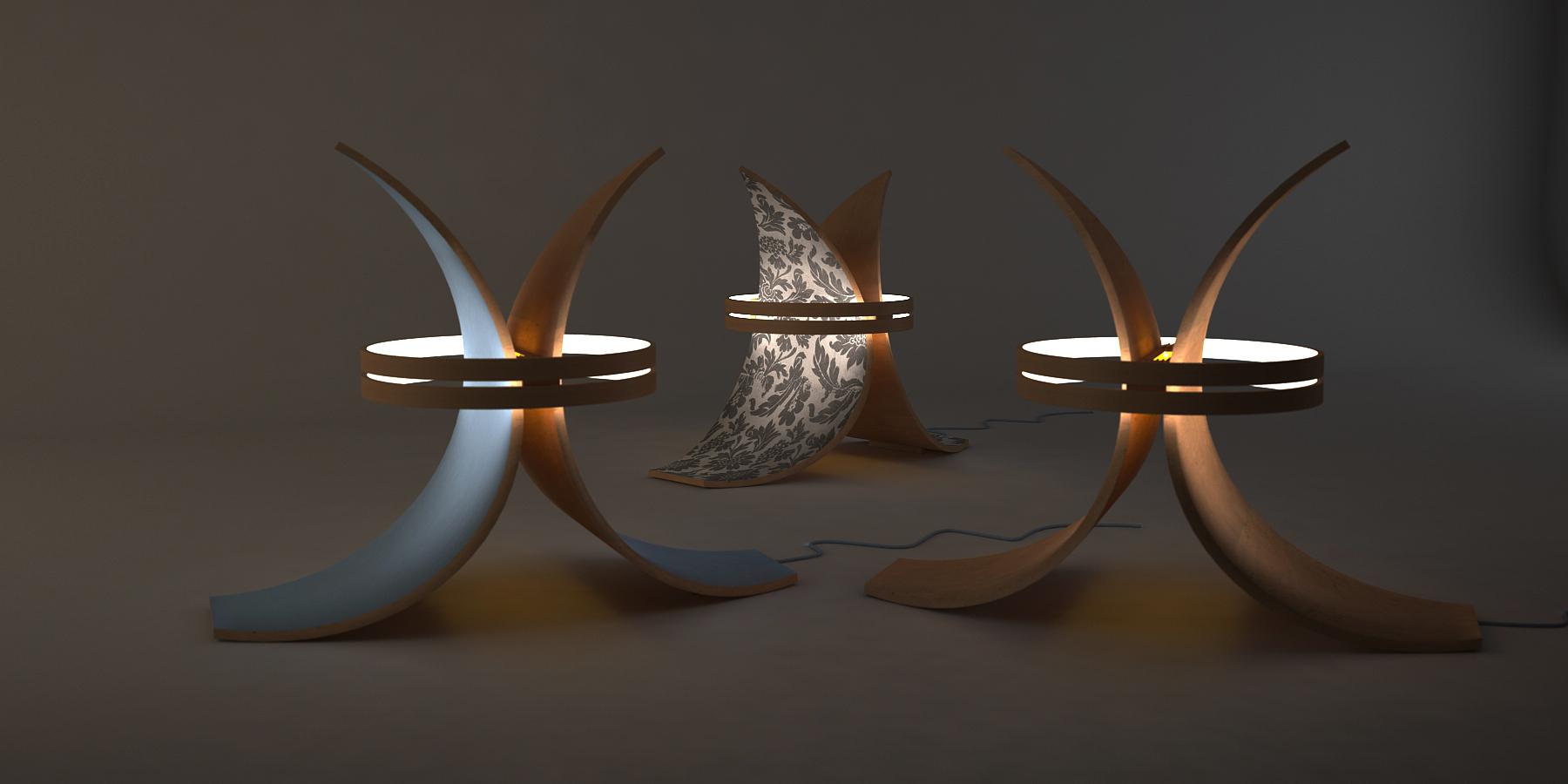 Lampada Fish versioni